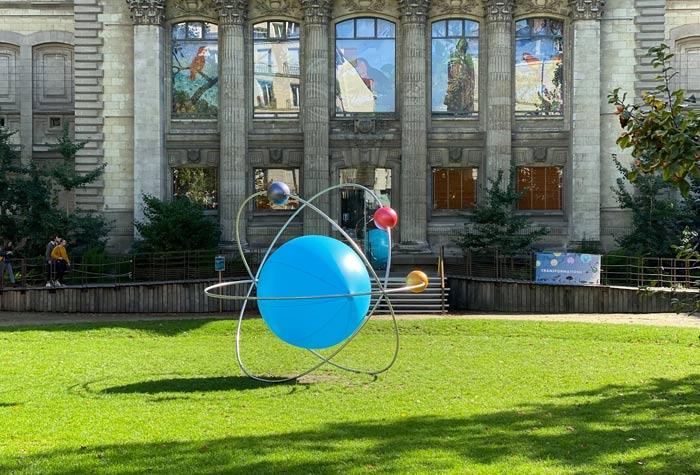 Scénographie au muséum d'histoire naturel de Nantes pour la fête de la science